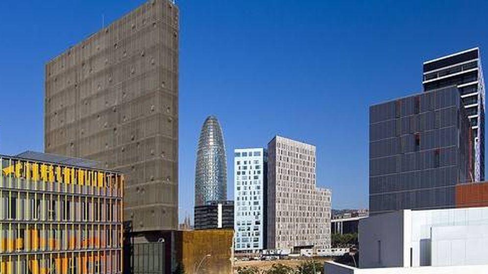 Foto: Imagen del distrito barcelonés de la innovación 22@. (Grupo Castellví)
