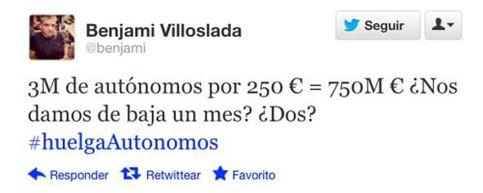 Foto: ¿Qué pasaría si los tres millones de autónomos que hay en España se diesen de baja un mes?