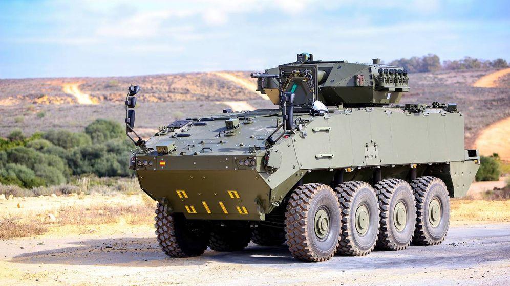 Foto: Modelo de blindado 8x8 para el Ejército. (MinDef)