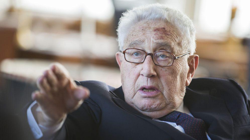 Foto: Henry Kissinger en su 90 cumpleaños