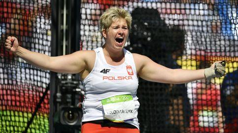 Anita Wlodarczyk bate su propio récord mundial de martillo con 82,29