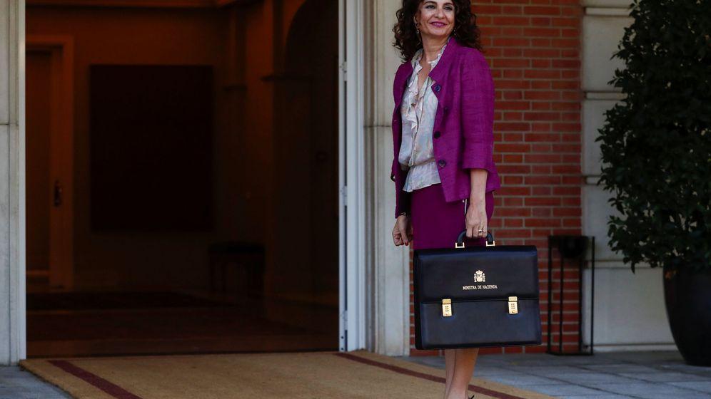 Foto: La ministra de Hacienda, María Jesús Montero. (Reuters)