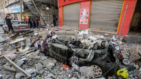 Ataque de Israel a la red de túneles de Hamás en Gaza: 40 objetivos con 120 bombas