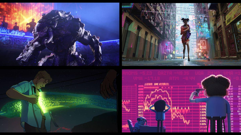 Imagen de 'Love, Death and Robots'. (Netflix)