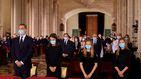 Las razones de la no comunión de Felipe, Letizia, Leonor y Sofía en la misa funeral