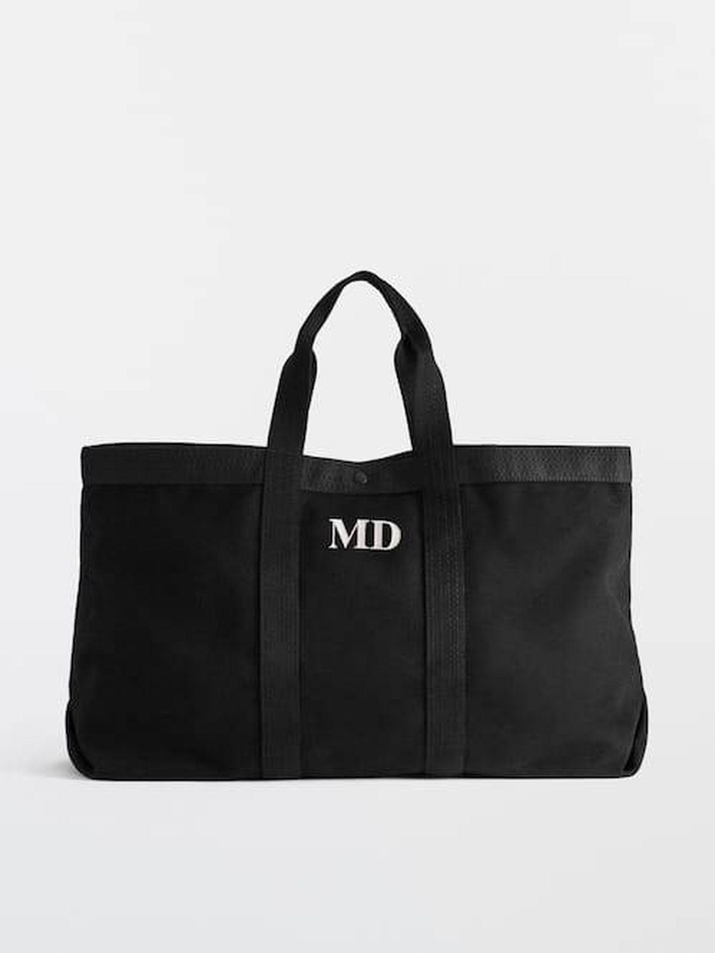 El bolso de Massimo Dutti. (Cortesía)