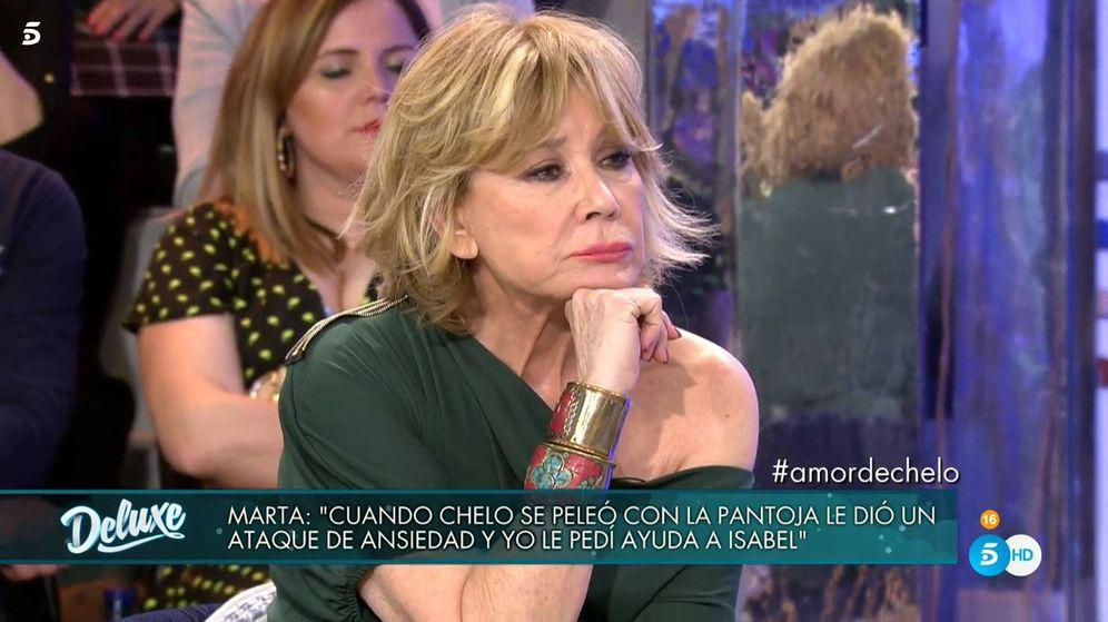 Foto: Mila Ximénez, en 'Sábado Deluxe'. (Telecinco)