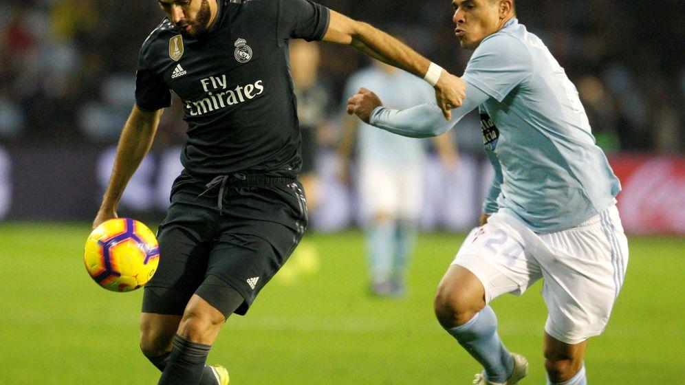 Foto: Celta - Real Madrid, temporada 2018/19 (EFE)