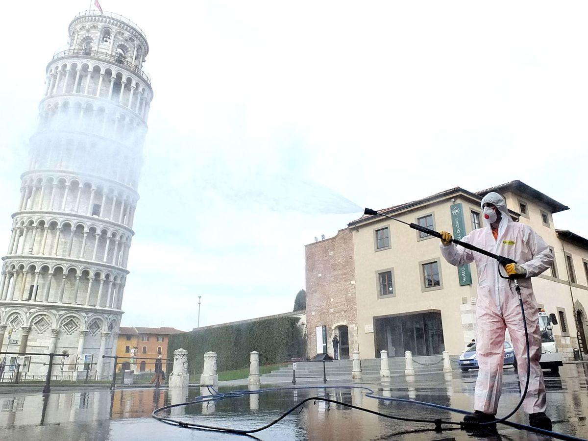 Foto: Imagen de la torre de Pisa. (EFE)