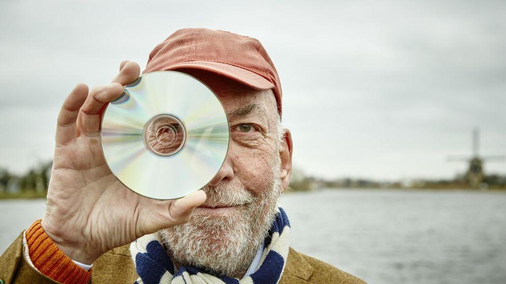 Foto: Kees Schouhamer Immink ha hecho posible tres generaciones de discos digitales