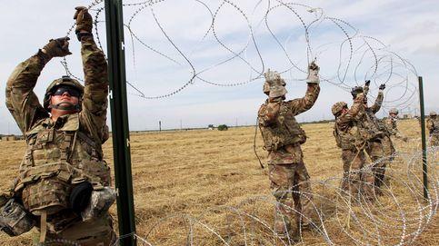 Los soldados de EEUU desplegados en la frontera con México