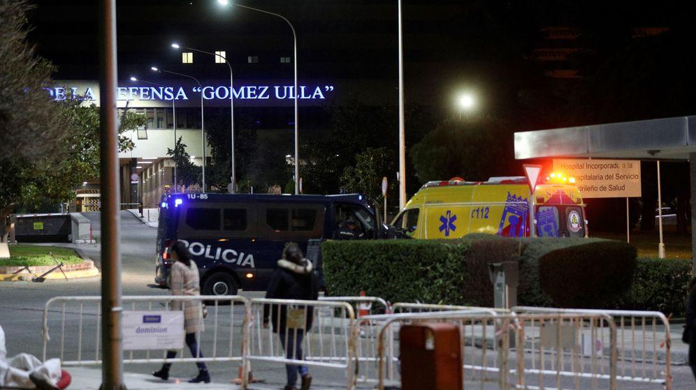 Foto: Vista de los alrededores del Hospital Militar Gómez Ulla de Madrid. (EFE)