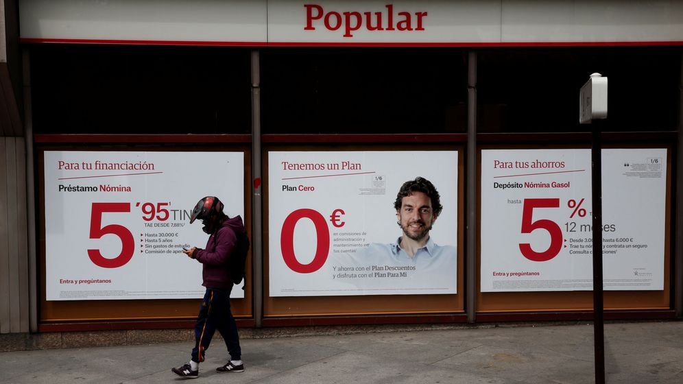 Foto: Sucursal del Banco Popular en Madrid (Reuters)