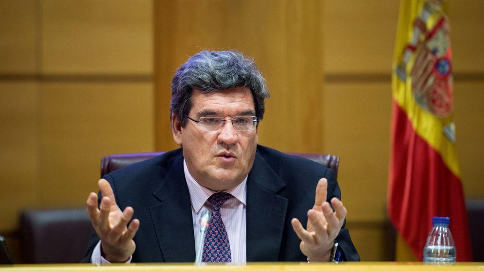 Foto: El Ministro de Inclusión, Seguridad Social y Migraciones, José Luis Escrivá