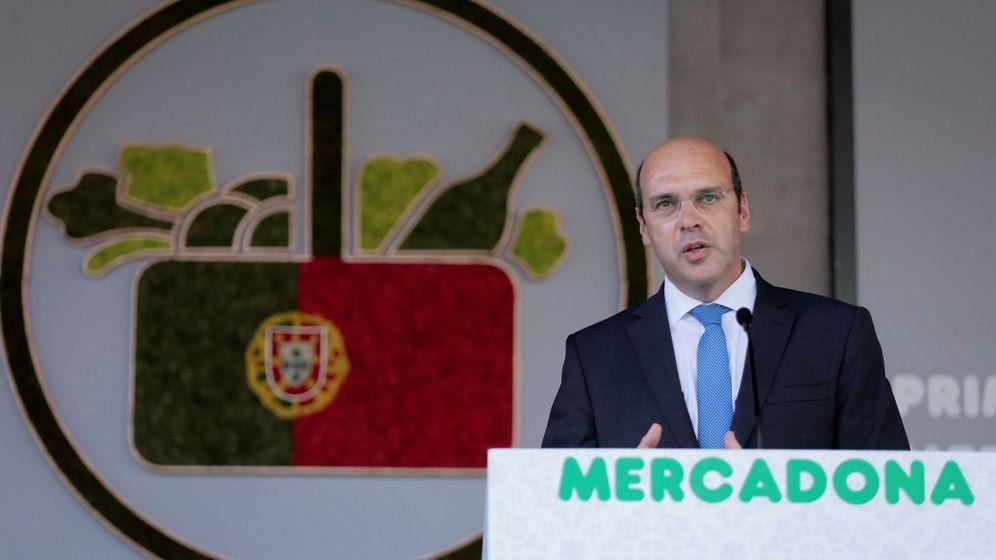 Foto: El presidente de Mercadona durante la apertura de sus tiendas en Portugal