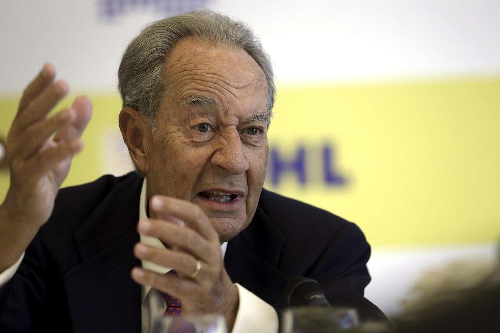 Foto: Juan Miguel Villar Mir, principal accionista de OHL