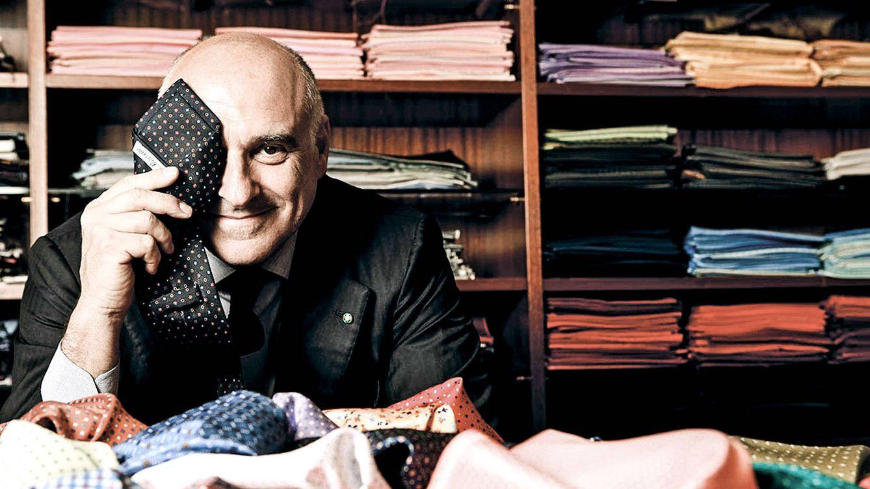 Foto: Maurizio Marinella, heredero de la firma histórica de corbatas napolitana E. Marinella. / SAMANTHA PRIMATI