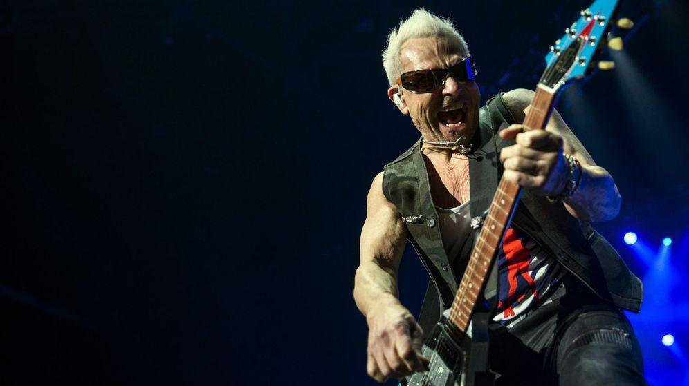 Foto: El guitarrista y compositor de Scorpions Rudolf Schenker.