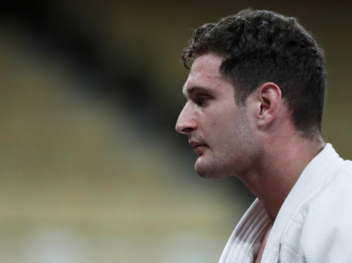 Foto: El judoca Nikoloz Sherazadishvili (EFE)
