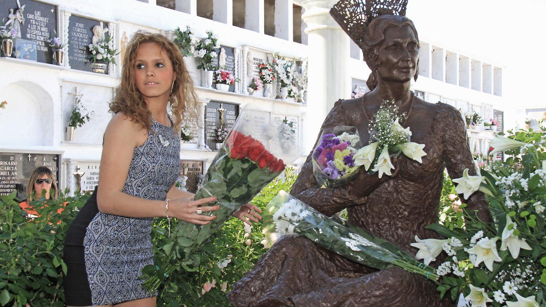 Gloria Camila en Chipiona, en una imagen de archivo