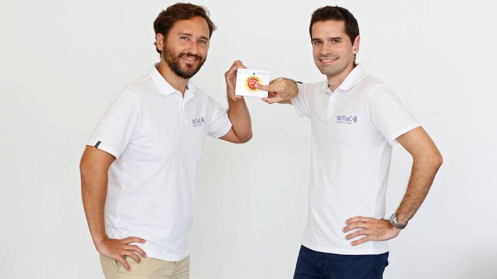 Foto: Javier Ferrer y Pep Pons, los fundadores de WiTrac.