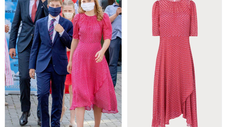 La princesa Elisabeth y su nuevo vestido de L.K. Bennett. (Cordon Press)