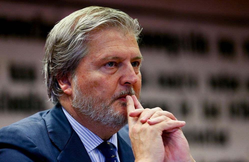 Foto: El ministro de Cultura en su comparecencia en el Senado. (Efe)