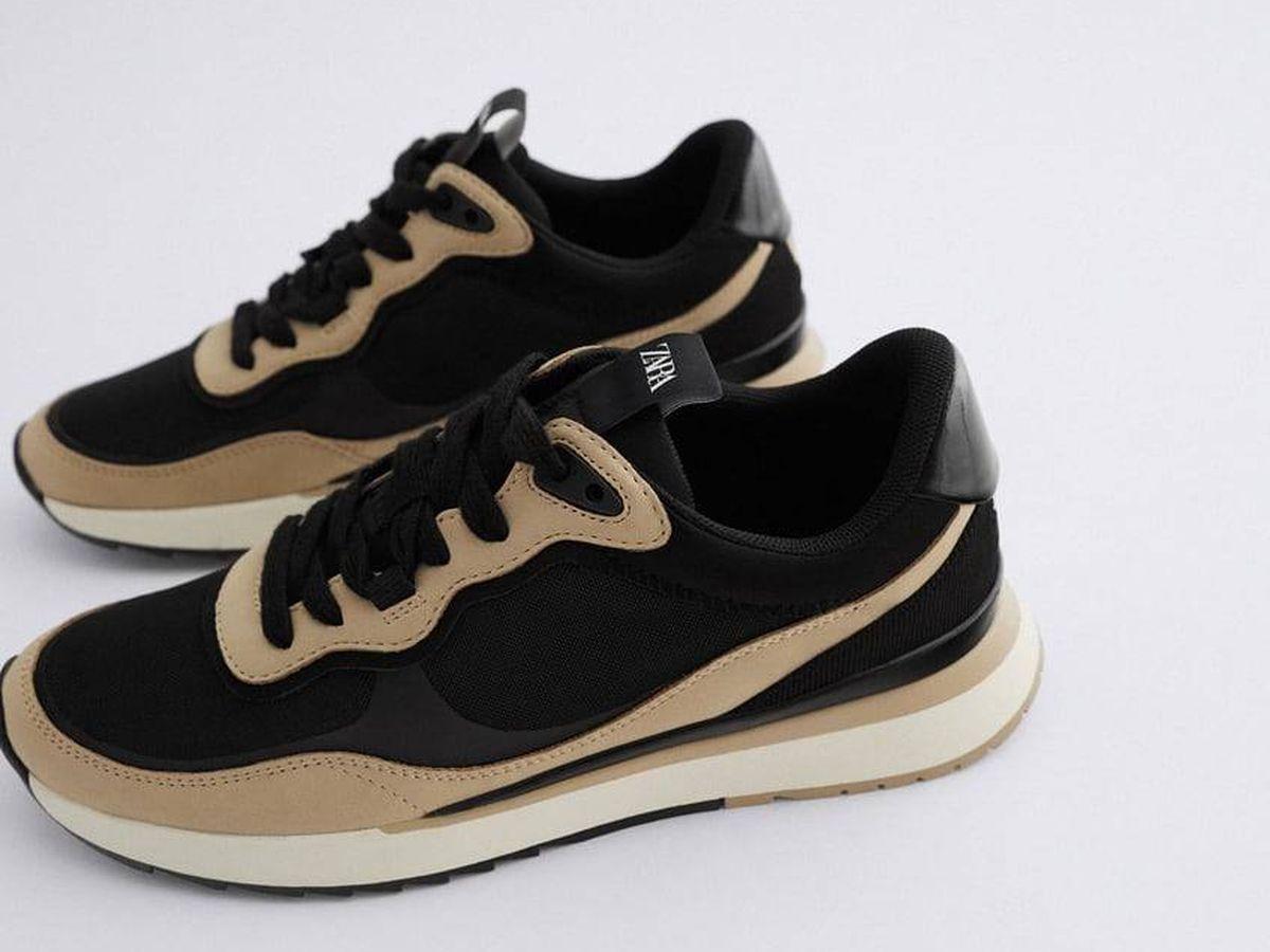 Foto: Zapatillas deportivas de Zara. (Cortesía)