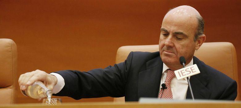 Foto: ministro de Economía y Competitividad, Luis de Guindos (Efe)