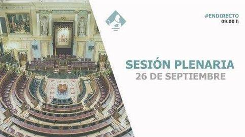 La ministra Delgado, protagonista de una sesión de control sin Pedro Sánchez