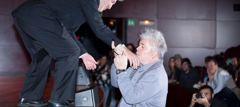 Foto: Pedro Almodóvar y David Lynch. (Mario Martín)