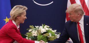 Post de Trump y Von der Leyen acuerdan trabajar para llegar