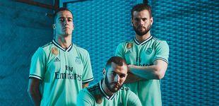 Post de Así es la tercera camiseta del Real Madrid: verde intenso e inspirada en el Bernabéu