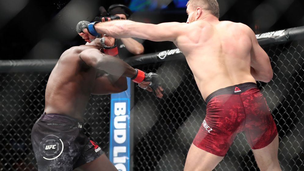 Foto: Jan Blachowicz, en una pelea anterior. (USA TODAY Sports)