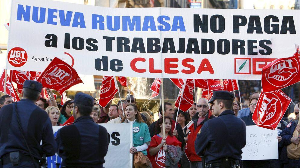 Foto: Concentración trabajadores de Clesa en 2011. (EFE)