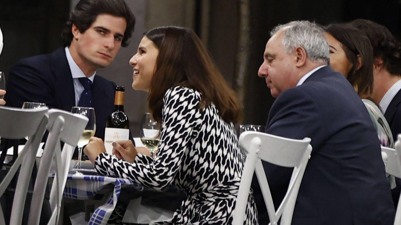 Fernando M. de Irujo, Tana Rivera y Fernando Fitz-James. (Gtres)