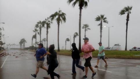 El huracán Harvey llega a Texas
