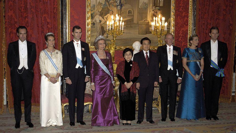 Así ha cambiado la familia real desde la última visita de Estado de China