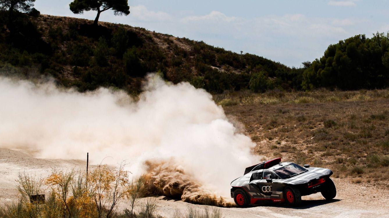 El sofocante calor español, perfecto para preparar etapas de desierto del Rally Dakar