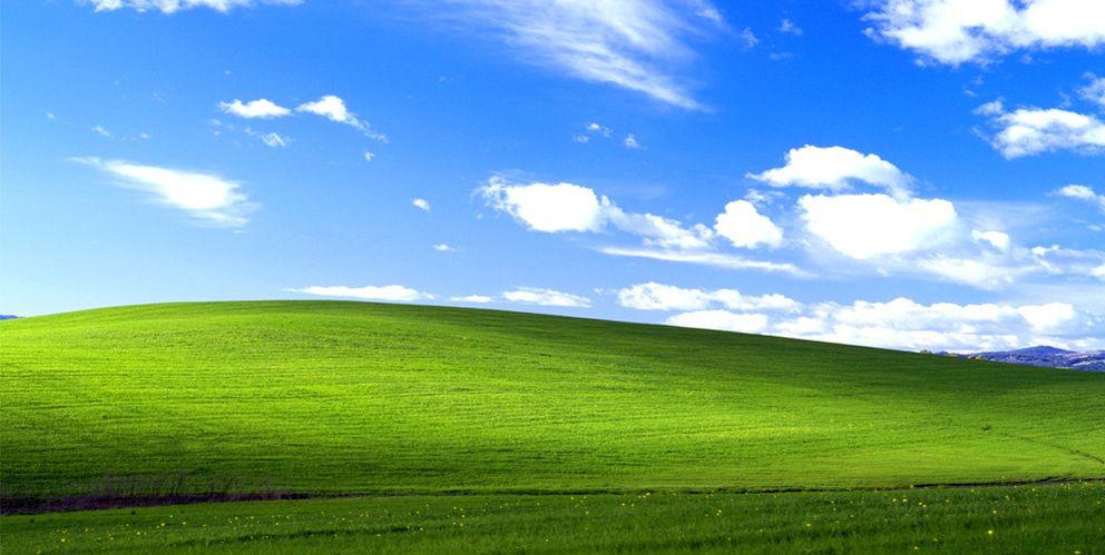 Foto: 'Bliss', el fondo de escritorio de Windows XP, esconde un tórrido romance