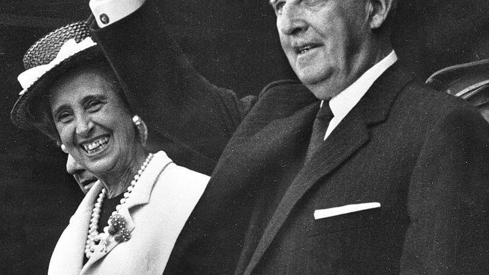 La herencia de Franco: 28,5 millones de pesetas para su mujer y su hija