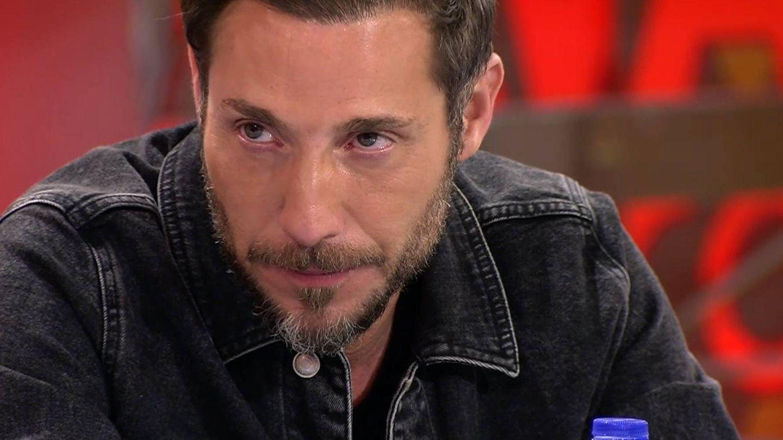 Antonio David Flores, en 'Sálvame' tras ver el tráiler del documental. (Mediaset)