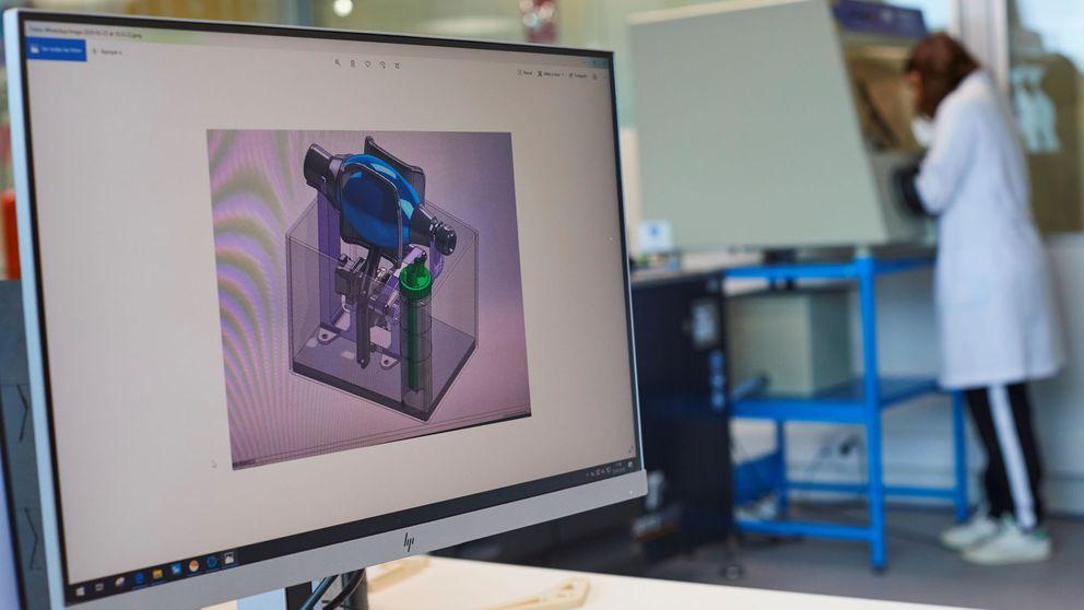 Cataluña empieza a fabricar respiradores de batalla con impresoras 3D para pacientes de coronavirus