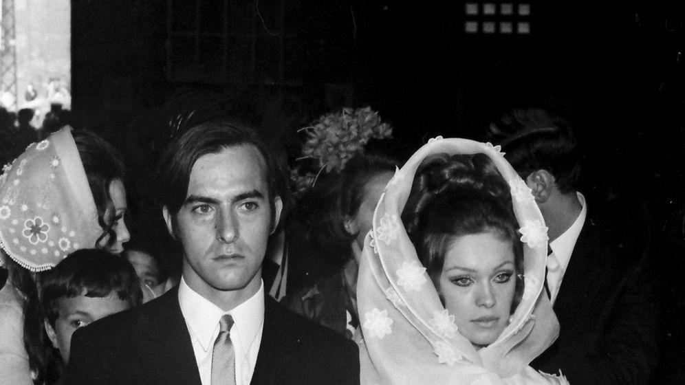 Foto: Marisol y Carlos Goyanes en su boda. (Getty)