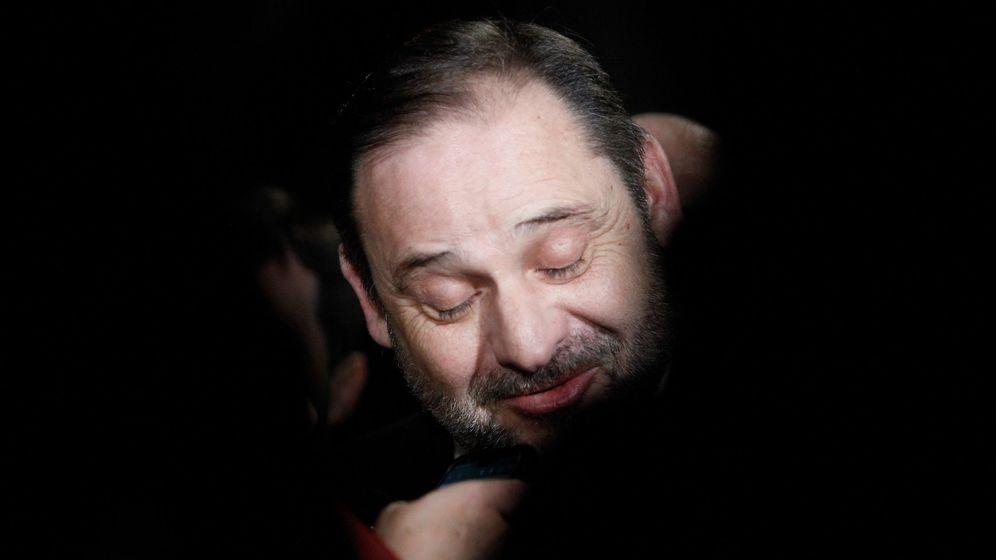 Foto: El ministro de Transportes, José Luis Ábalos, este 24 de enero en A Coruña. (EFE)