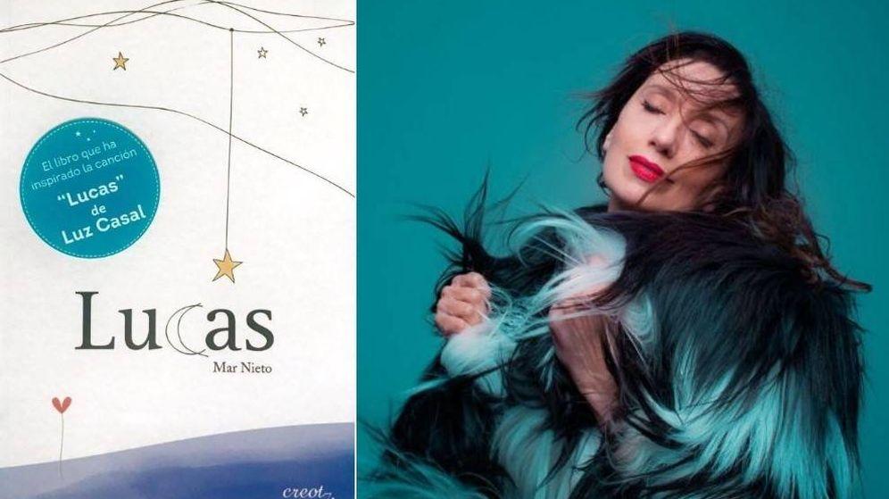 Foto: Luz Casal se basó en el libro de Mar Nieto para su última canción, 'Lucas'.