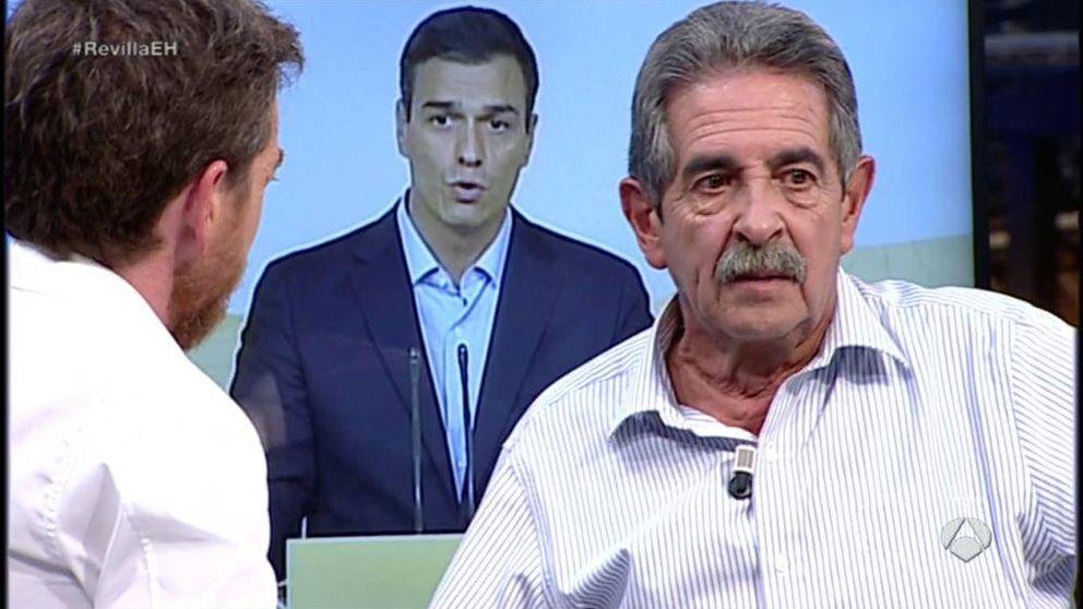 Revilla habla con Motos sobre Sánchez: Espero que Rajoy no sea carroñero