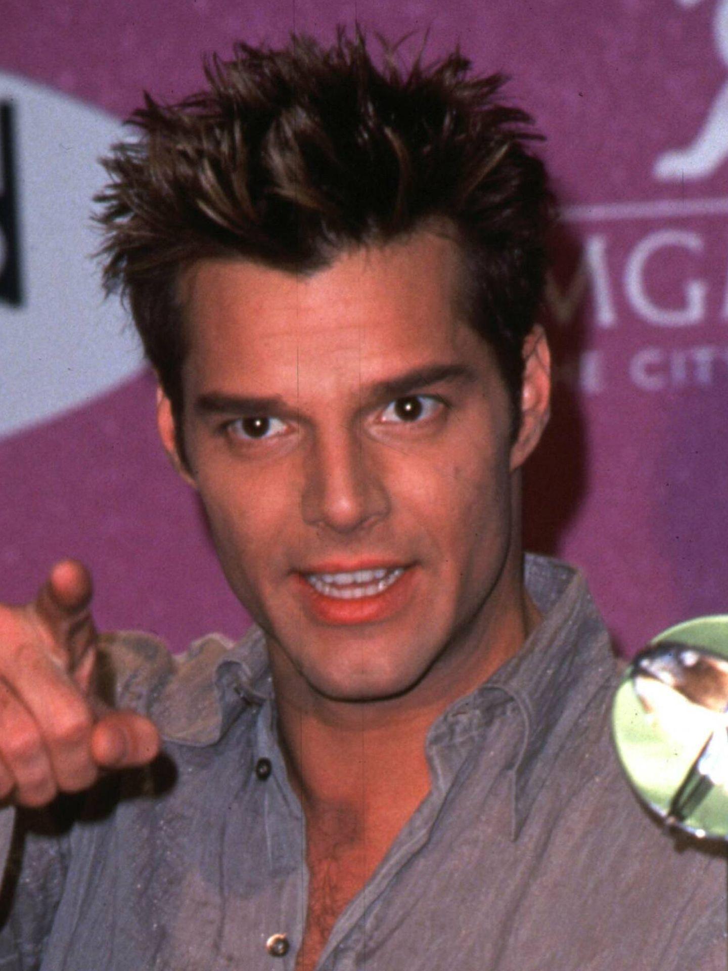 Detalle de la piel de Ricky Martin en los noventa.  (Cordon Press)