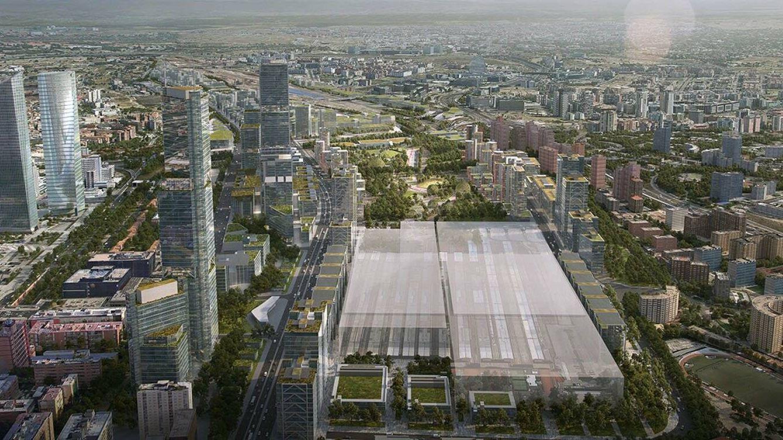 Rafael de la Hoz y OMA desatan una guerra de arquitectos por la estación de Chamartín