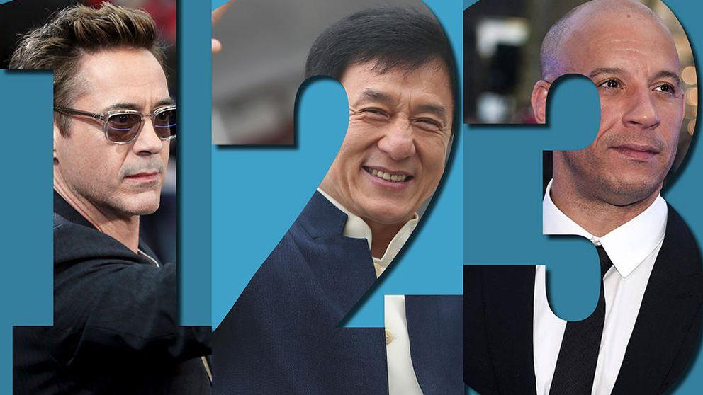 Estos son los 15 hombres con las 15 cuentas corrientes más abultadas de Hollywood